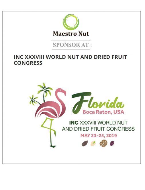 INC XXXVIII World Nut and Dried Fruit Congress