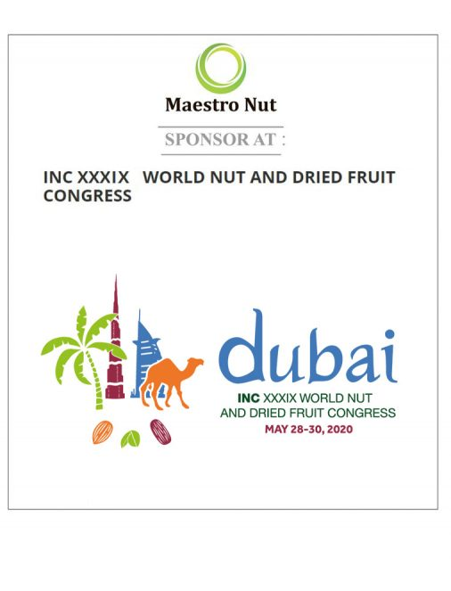 INC XXXIV World Nut and Dried Fruit Congress in 2020